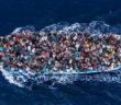 Lampedusa Refugees by Italian photographer Massimo Sestini
