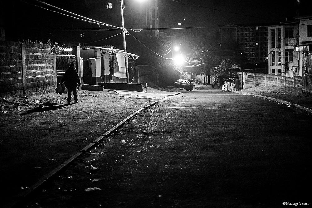 Strangers in the Night, Nairobi, Nairobi Noir, Msingi Sasis