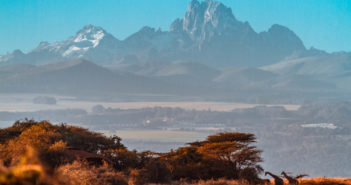 Mount Kenya as seen from Lewa Conservancy | by Japicha